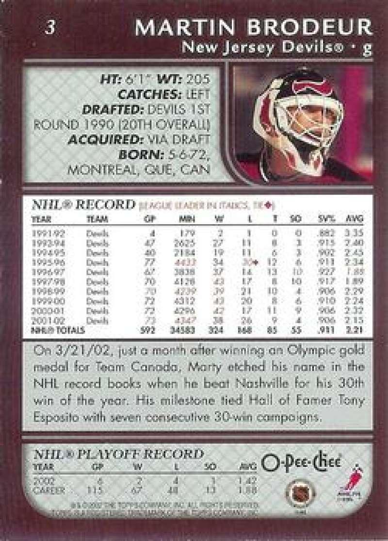 2002-03-O-Pee-Chee-02-03-OPC-NHL-Hockey-Trading-Cards-Pick-From-List-1-200 Indexbild 4