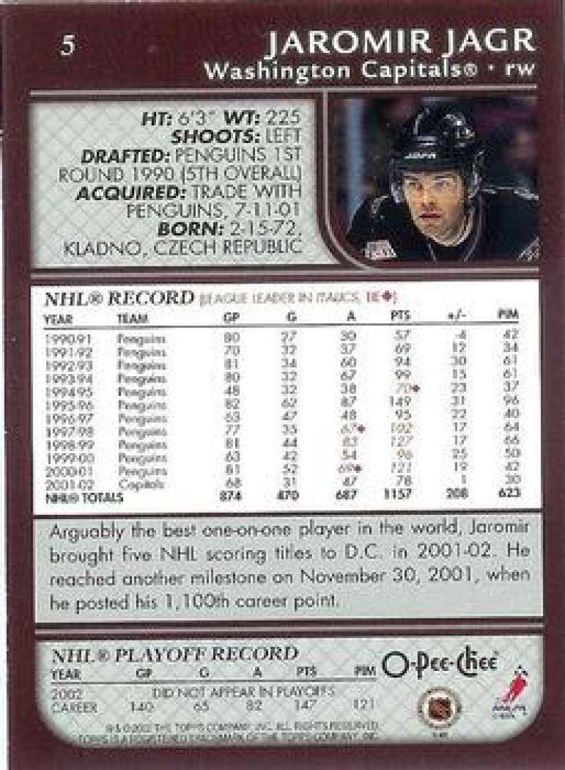 2002-03-O-Pee-Chee-02-03-OPC-NHL-Hockey-Trading-Cards-Pick-From-List-1-200 Indexbild 8
