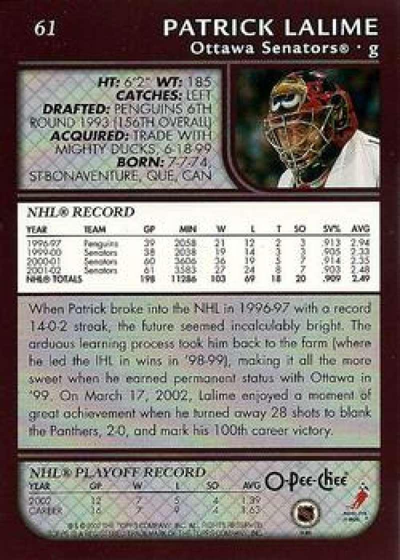 2002-03-O-Pee-Chee-02-03-OPC-NHL-Hockey-Trading-Cards-Pick-From-List-1-200 Indexbild 112