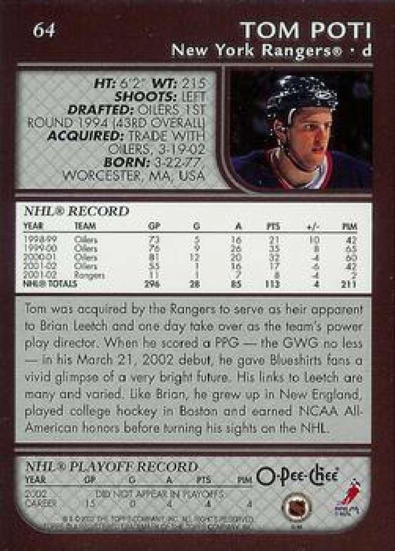 2002-03-O-Pee-Chee-02-03-OPC-NHL-Hockey-Trading-Cards-Pick-From-List-1-200 Indexbild 118