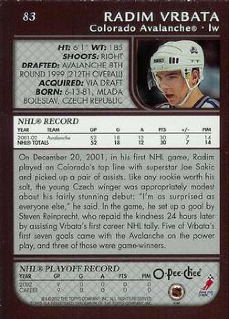 2002-03-O-Pee-Chee-02-03-OPC-NHL-Hockey-Trading-Cards-Pick-From-List-1-200 Indexbild 152