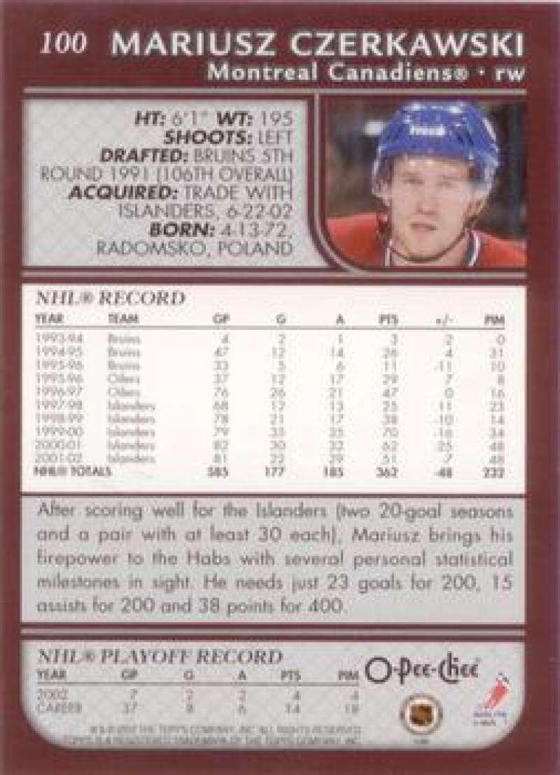 2002-03-O-Pee-Chee-02-03-OPC-NHL-Hockey-Trading-Cards-Pick-From-List-1-200 Indexbild 182
