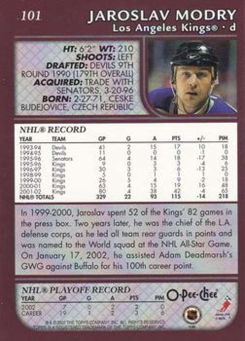 2002-03-O-Pee-Chee-02-03-OPC-NHL-Hockey-Trading-Cards-Pick-From-List-1-200 Indexbild 184