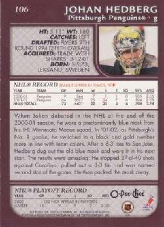 2002-03-O-Pee-Chee-02-03-OPC-NHL-Hockey-Trading-Cards-Pick-From-List-1-200 Indexbild 192