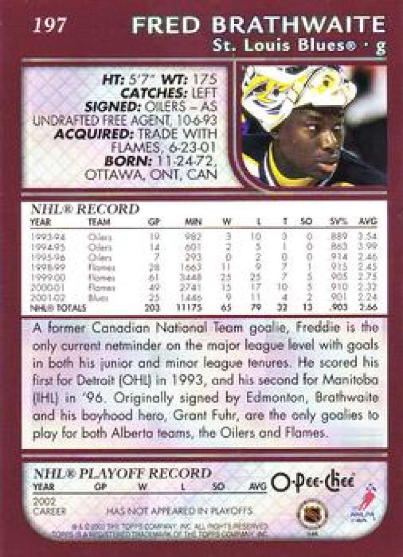 2002-03-O-Pee-Chee-02-03-OPC-NHL-Hockey-Trading-Cards-Pick-From-List-1-200 Indexbild 366