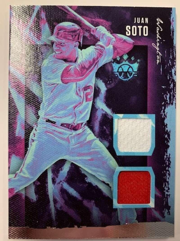 2020 Diamond Kings DK Materials Baseball #83 Juan Soto Jersey/Relic Washington Nationals