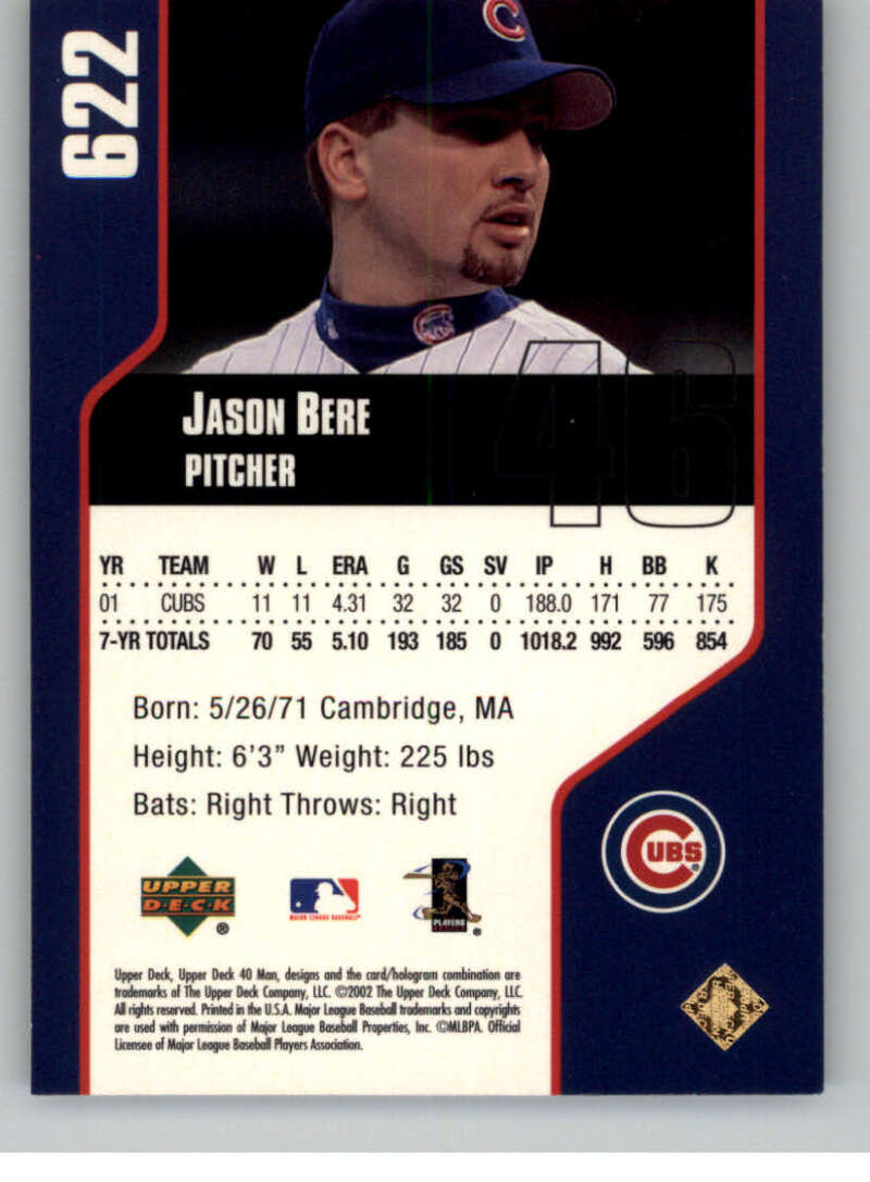 thumbnail 2 - 2002 Upper Deck 40-Man Electric MLB Baseball Cards Pick From List 601-800
