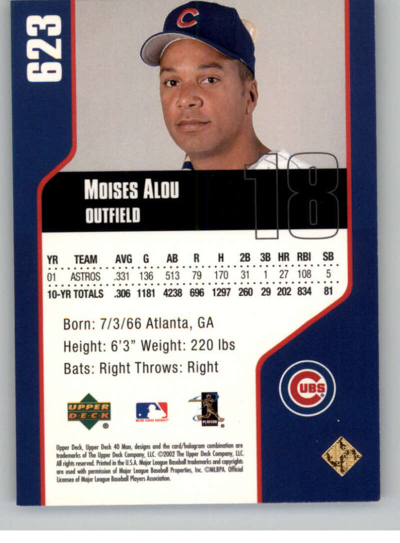 thumbnail 4 - 2002 Upper Deck 40-Man Electric MLB Baseball Cards Pick From List 601-800