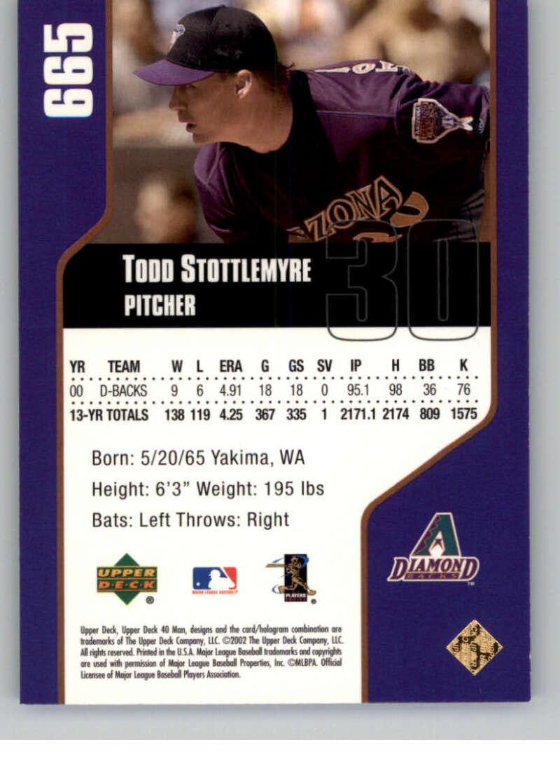 thumbnail 12 - 2002 Upper Deck 40-Man Electric MLB Baseball Cards Pick From List 601-800