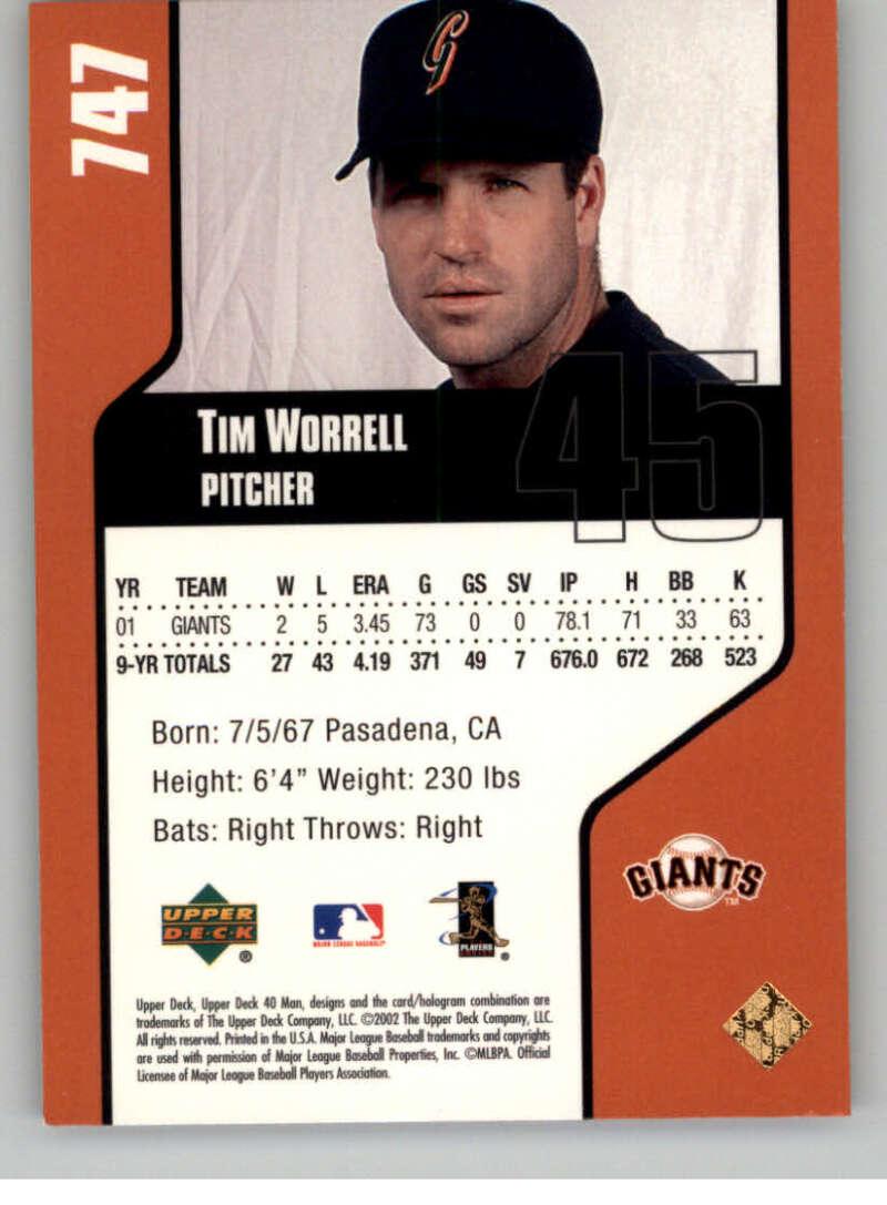thumbnail 28 - 2002 Upper Deck 40-Man Electric MLB Baseball Cards Pick From List 601-800