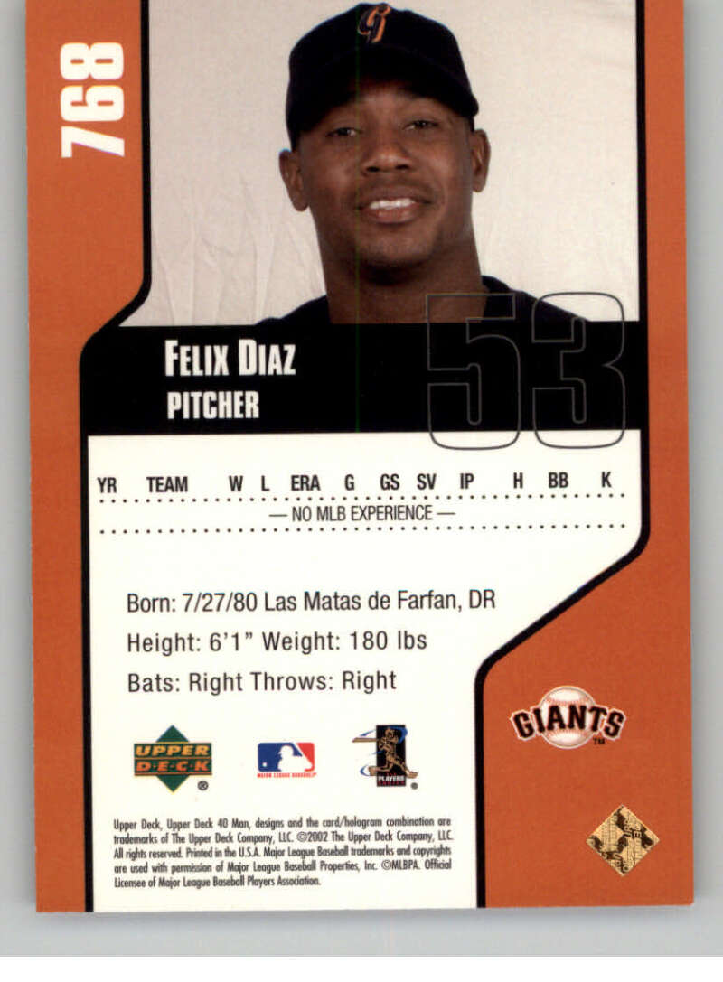 thumbnail 34 - 2002 Upper Deck 40-Man Electric MLB Baseball Cards Pick From List 601-800