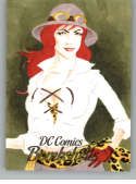 2017 Cryptozoic DC Comics Bombshells Sketch Artists 1/1 #NNO Diego Moreira (Cheetah)