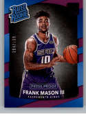 2017-18 Donruss Press Proof Purple #167 Frank Mason III Rated Rookie NM-MT /199