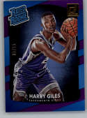 2017-18 Donruss Holo Purple Laser #181 Harry Giles Rated Rookie NM-MT /15