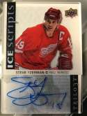 2017-18 Upper Deck Trilogy Ice Scripts #IS-SY Steve Yzerman NM-MT Auto