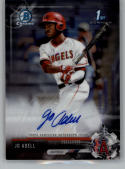 2017 Bowman Draft Chrome Autographs #CDA-JA Jo Adell NM-MT Auto