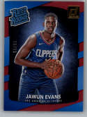 2017-18 Donruss Holo Red Laser #162 Jawun Evans Rated Rookie NM-MT /99