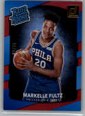 2017-18 Donruss Holo Red Laser #200 Markelle Fultz Rated Rookie NM-MT /99