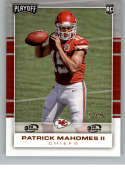 2017 Panini Playoff 3rd Down #204 Patrick Mahomes II Rookie NM-MT /25