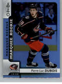 2017-18 O-Pee-Chee Rainbow Foil #632 Pierre-Luc Dubois Blue Jackets Rookie Year RC From Upper Deck Series Two Packs