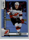 2017-18 O-Pee-Chee Rainbow Foil #649 Nico Hischier NJ Devils Rookie Year RC From Upper Deck Series Two Packs