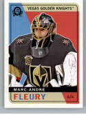 2017-18 O-Pee-Chee Retro #601 Marc-Andre Fleury From Upper Deck Series Two Packs