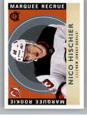 2017-18 O-Pee-Chee Retro #649 Nico Hischier NJ Devils Rookie Year RC From Upper Deck Series Two Packs