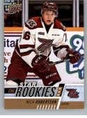 2017-18 Upper Deck CHL #338 Nick Robertson RC Rookie Card SP Short Print Star Rookies