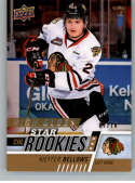 2017-18 Upper Deck CHL High Gloss #329 Kieffer Bellows SER/10 Star Rookies