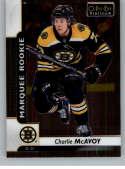 2017-18 O-Pee-Chee Platinum #155 Charlie McAvoy RC Rookie Card Bruins