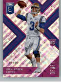 2018 Panini Elite Draft Picks Variation Aspirations Purple #102 Josh Rosen SER/99