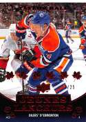2010-11 Upper Deck French Red #219 Taylor Hall SER/25 Oilers