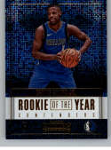 2017-18 Panini Contenders Rookie of the Year Contenders #16 Dennis Smith Jr. Mavericks Basketball Card