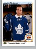 2017-18 SP Authentic 1990-91 Retro Draft Picks #RDP-AM Auston Matthews Toronto Maple Leafs