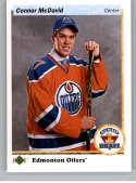 2017-18 SP Authentic 1990-91 Retro Draft Picks #RDP-CM Connor McDavid Edmonton Oilers