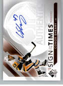 2017-18 SP Authentic Sign of the Times Autographs #SOTT-CS Conor Sheary Auto Autograph Pittsburgh Penguins
