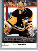 2017-18 Upper Deck Update #512 Casey DeSmith Young Guns YG RC Rookie Pittsburgh Penguins (SP Authetic Packs) NHL Hockey