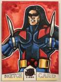 2018 Fleer Ultra X-Men Sketch Artist #NNO Michael Mastermaker (Warpath)