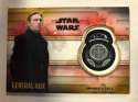 2018 Topps Star Wars The Last Jedi Series 2 Commemorative Patches Silver #NNO General Hux SER/25 First Order