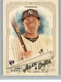 2018 Topps Allen and Ginter Baseball #240 Gleyber Torres RC Rookie Card New York Yankees Official MLB Trading Card