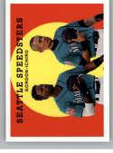 2018 Topps Archives Baseball #308 Ichiro/Dee Gordon Seattle Mariners Rare Short Print SP