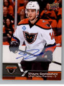 2014-15 Upper Deck AHL Autographs #120 Shayne Gostisbehere NM-MT Auto Autograph Lehigh Valley Phantoms