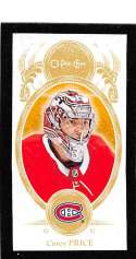 2018-19 O-Pee-Chee Minis Black #M-58 Carey Price Montreal Canadiens