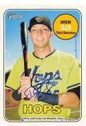 2018 Topps Heritage Minor League Baseball Real One Autographs #ROA-DE Drew Ellis Auto Autograph Hillsboro Hops  Official MILB Trading Card