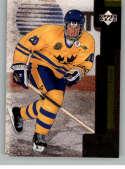 1997-98 UD Black Diamond Hockey #136 Henrik Sedin NM-MT RC Rookie Card  Official Upper Deck NHL Trading Card
