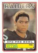 1983 Topps Official NFL Football Card #294 Marcus Allen DP NM RC Rookie Card Los Angeles Raiders  Football Card