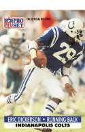 1991 Pro Set Football Card #175a No NFLPA 667 Eric Dickerson ERR Indianapolis Colts  Official NFL Trading Card