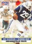 1991 Pro Set Football Card #175c No NFLPA 677 Eric Dickerson COR Indianapolis Colts  Official NFL Trading Card