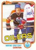 1981-82 Topps Hockey Card #16 Wayne Gretzky Edmonton Oilers  Officially Licensed Trading Card