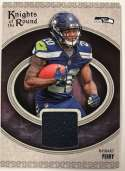 2018 Panini Knights of the Round Rookie Memorabilia Football Card #24 Rashaad Penny Jersey/Relic Seattle Seahawks  Official NFL Trading Card